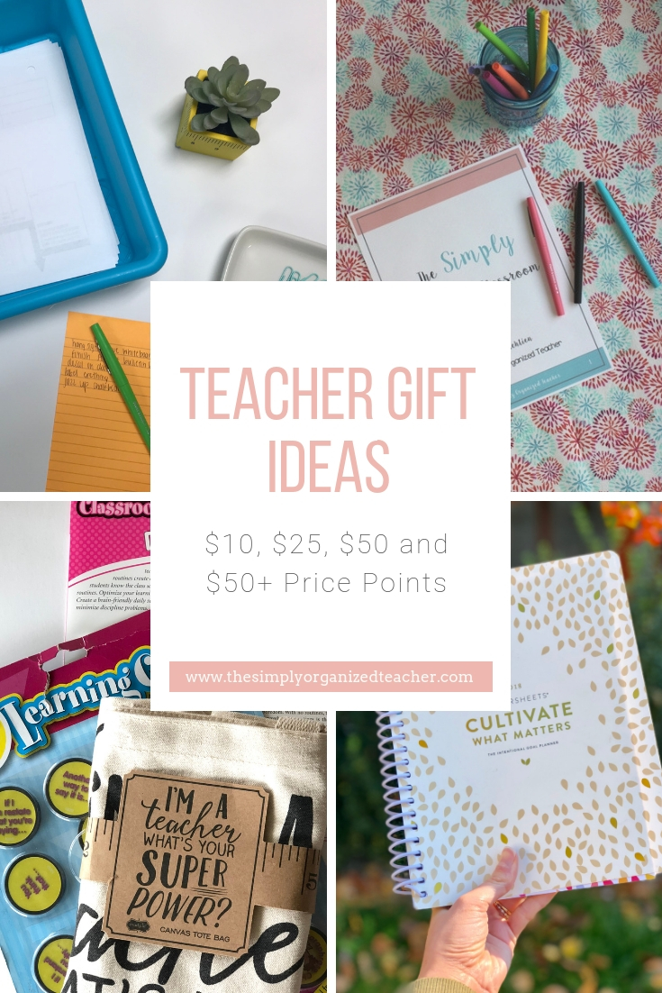 Classroom teachers love to be thought of during christmas time, the end of the year, or teacher appreciation week. These gift ideas can work for all of those occasions. There are thoughtful, unique ideas at various price points.