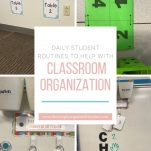 Struggling to keep your classroom organized? Use your students! This post shares things students can do to keep your classroom organized.