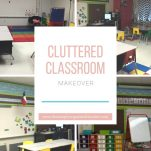 Classroom teachers can clear the clutter in their cluttered classrooms. This blog shows one teachers cluttered classroom makeover