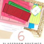 First year teachers and veteran teachers can establish routines for their classroom with the help from this list.