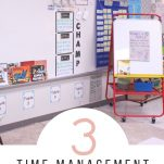 Manage your time as a first year teacher with these simple and practical steps.
