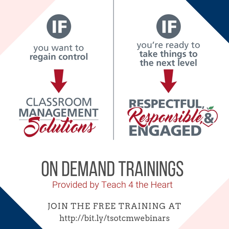 Classroom Management courses and trainings to support teachers in creating effective classroom management plans.