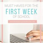 Plan fun and engaging lessons with these must haves for the first week of school.