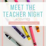 Organize and plan a welcoming Meet the Teacher Night for your new elementary students with these 10 ideas.