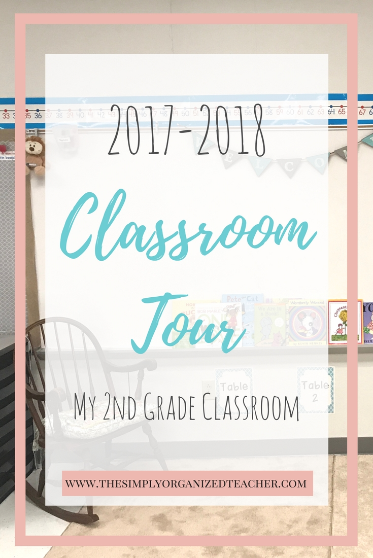 A tour of my 2nd grade classroom. This blog post shows how I organized my elementary classroom.
