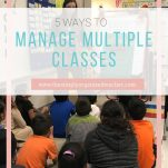 Classroom teachers can manage all of their classes with ease using the steps shared here.