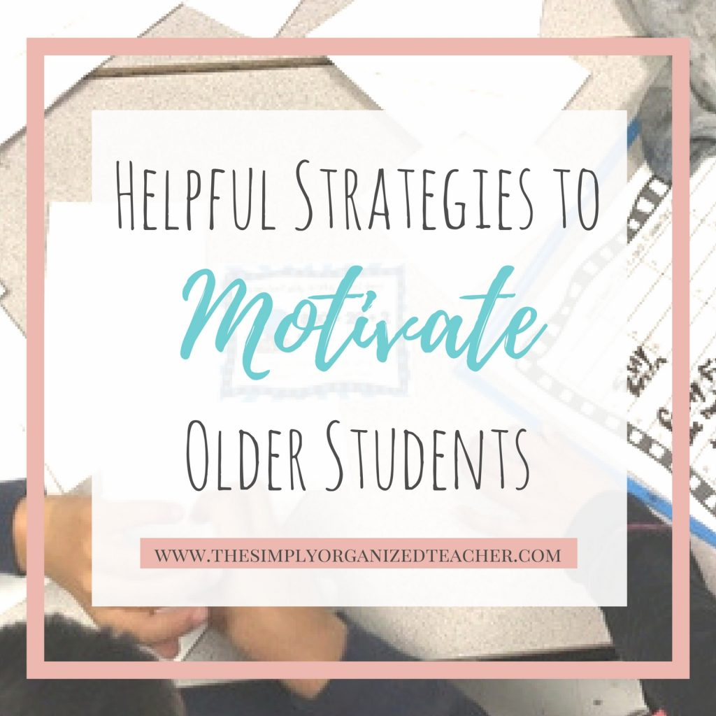 5 Ways to motivate older students