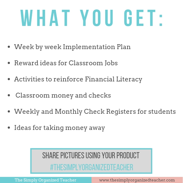 Looking for fun ways to engage your students in a positive behavior plan while teaching them at the same time? This system allows for a classroom economy that will help classroom teachers implement an engaging behavior system as well as teach personal financial literacy.