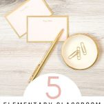 Tips to organize different areas in your elementary classroom with these videos and makeover guide.