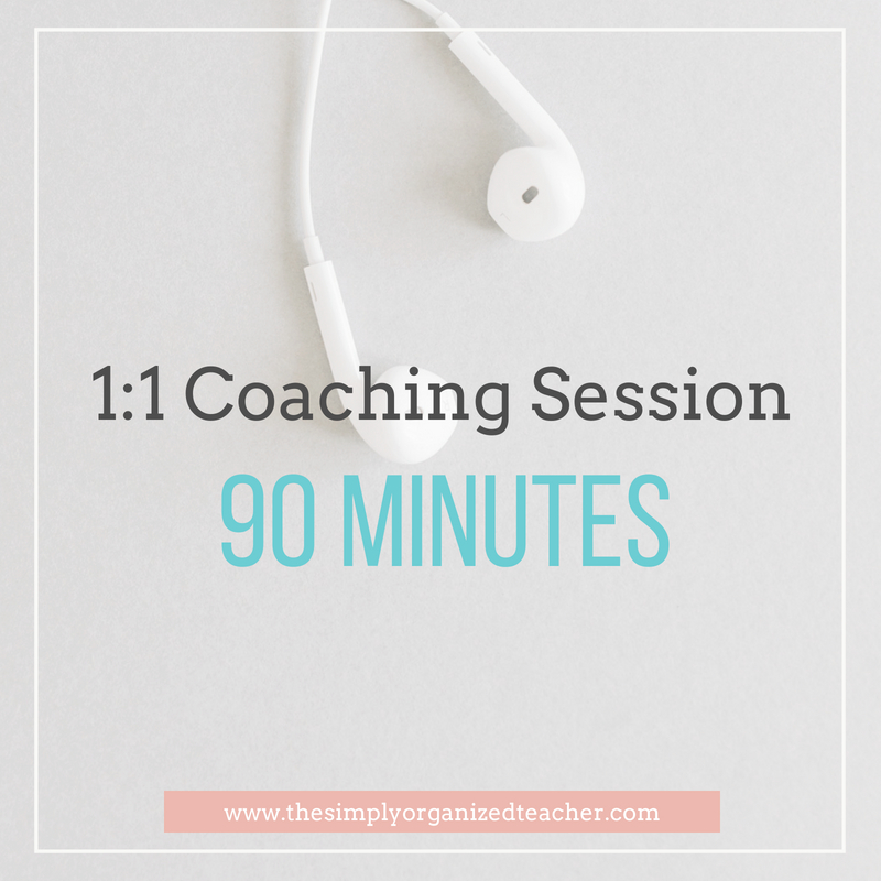 """Text overlay: """"1:1 Coaching session 90 minutes"""""""