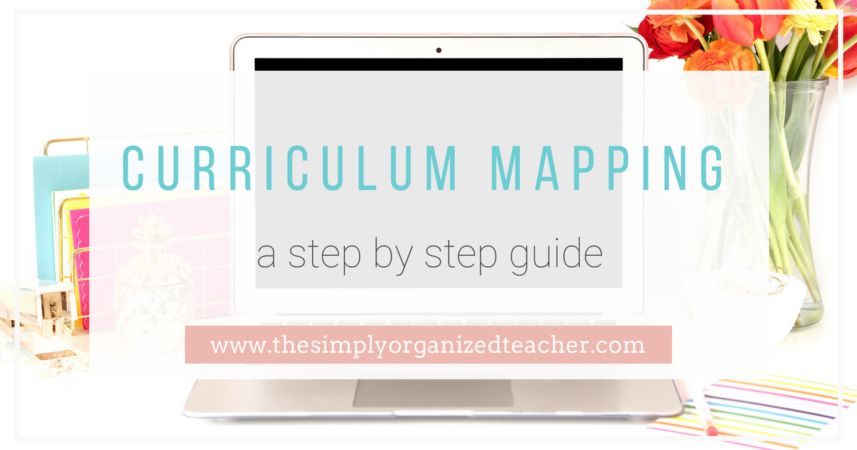 """Text overlay: \""""Curriculum Mapping a Step by Step Guide\"""""""