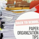 Teachers can organize their back to school papers with the ideas listed in this post. Plus, download the free guide to help you create paper organization routines for your classroom.
