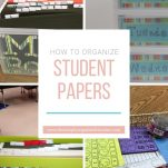 Improve your classroom organization by using these steps for organizing student papers.