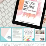 Unsure how to plan for the first day of school? This free challenge will help teachers prep for the first day of school.