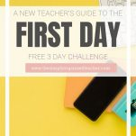 Looking to plan for the first day of school? This guide for first year teachers will help them plan and prepare for the first day of school.