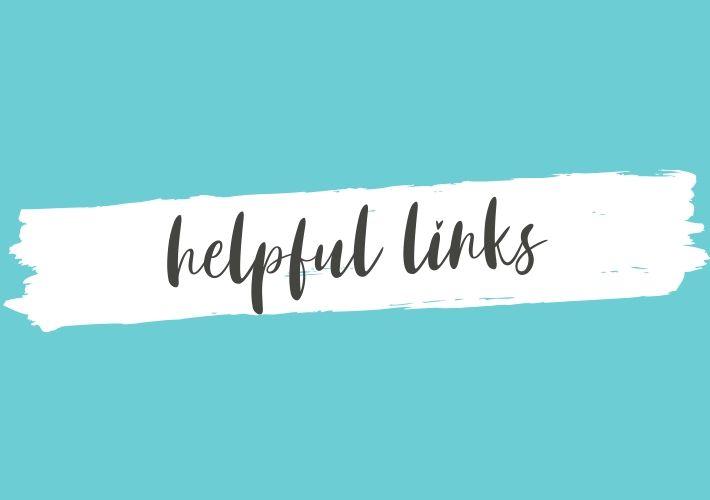 "text overlay: \""helpful links\"""