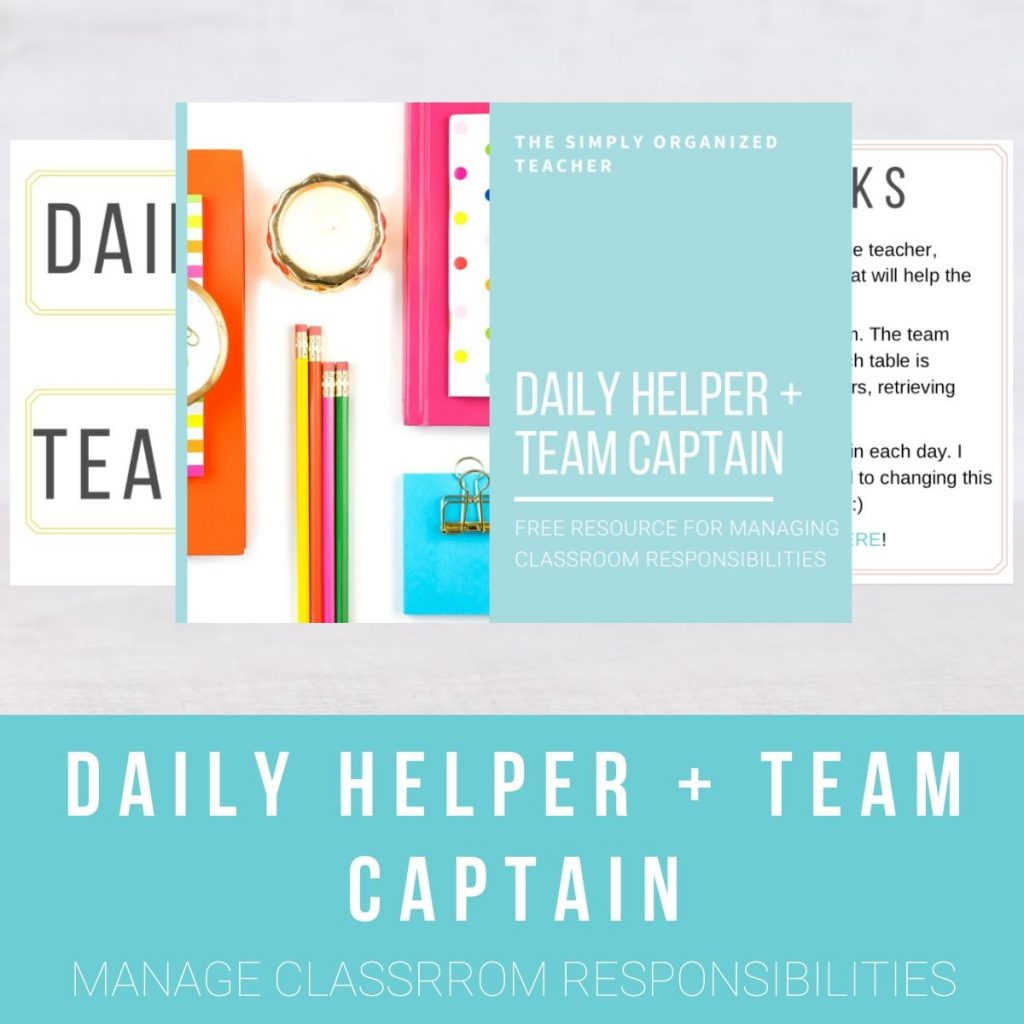 Screenshot of pages inside the Daily Helper + Team Captain download