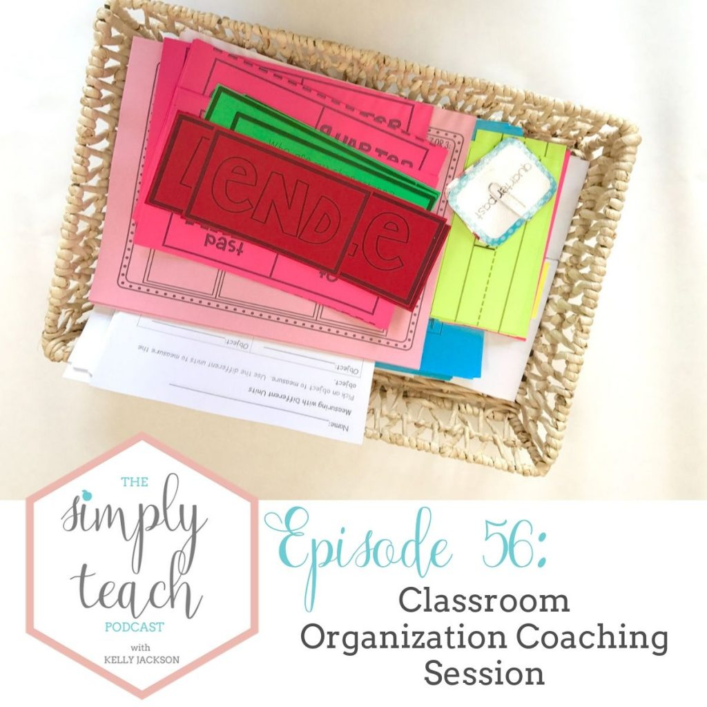 Looking for elementary classroom organization tips? This blog and podcast shares practical ideas for organizing your elementary classroom.