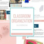 Classroom teachers can organize their classrooms with this Classroom Organization Guidebook. It will help elementary teachers organize different parts of their classroom with pictures, resources, and action steps.