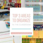 Looking to organize your classroom? Start with these three areas that must be organized in the elementary classroom.