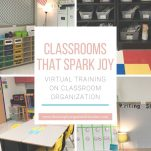 Looking for classroom organization strategies? This video training shares practical ways you can organize your classroom and maintain the organization.