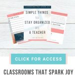 Organize your classroom with these practical and useful ideas. This is a video training for teachers looking to improve their classroom organization.
