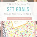 Looking to set goals as a teacher? Powersheets are a great tool to help teachers set intentional goals professionally and personally.