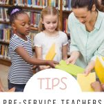 Pre-service teachers can prepare for their first year of teaching with these helpful ideas and resources.