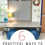 Classroom teachers can be organized with these 6 practical steps to simplify classroom organization.