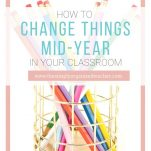 Why it's okay for a teacher to change things mid-year in the classroom.