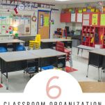 Organize your elementary classroom with these classroom organization ideas.