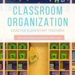 Classroom teachers can organize their classrooms with these classroom organization tips.