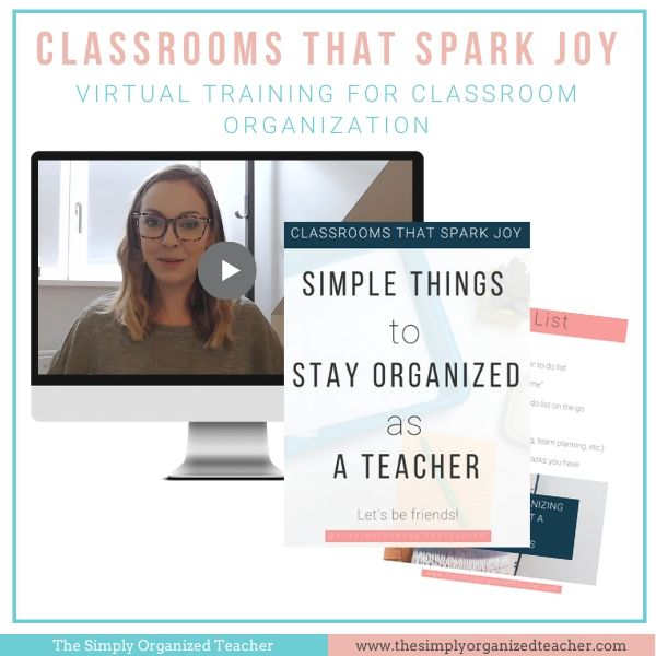 Learn practical and helpful tips to helping you organize your classroom so you can find more time and joy.