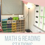 Organize your elementary stations with the steps and ideas listed in this post.