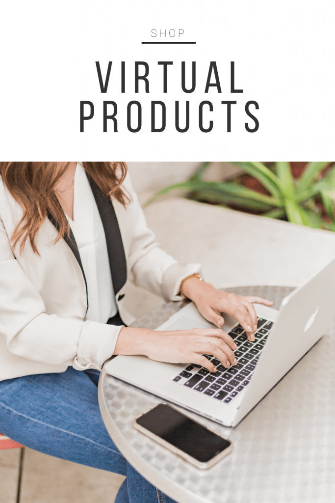 """Shop products: \""""Virtual Products\"""""""