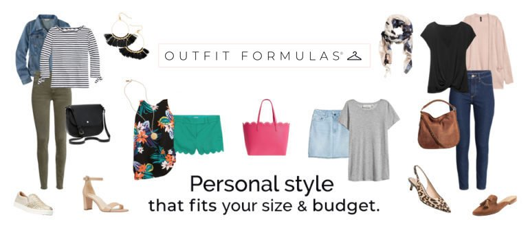 Examples of outfit formula ideas. Click this to purchase your own outfit formula.