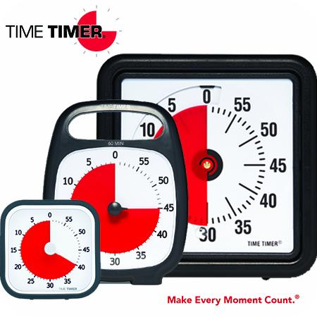 3 timers from Time Timer.