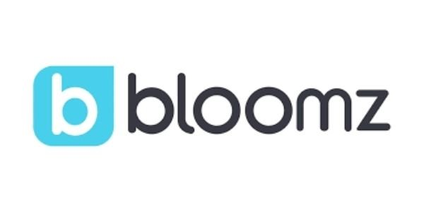 """Small b with text next to it that says """"bloomz"""""""